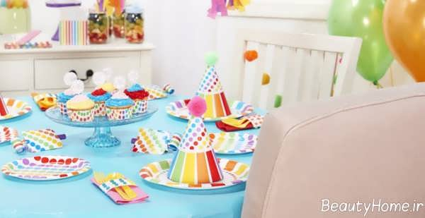 تزیین میز تولد