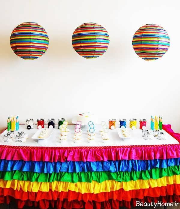 تزیین زیبا و خلاقانه اتاق تولد