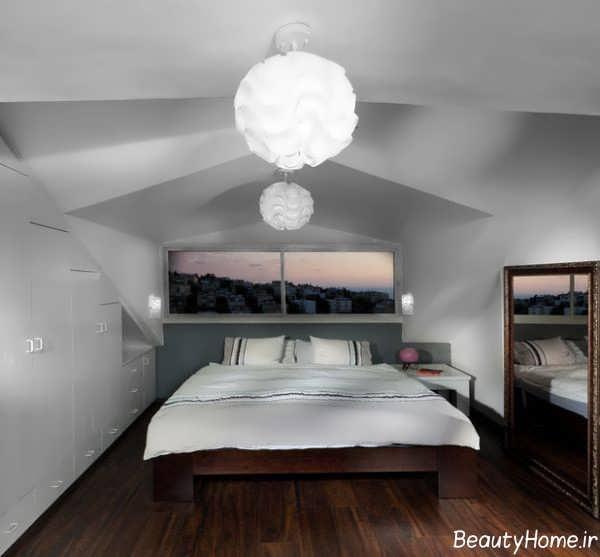دکوراسیون شیک و خاص اتاق خواب