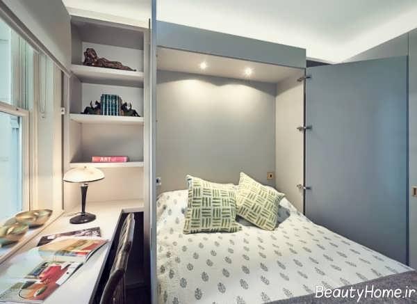 نورپردازی اتاق خواب های کوچک