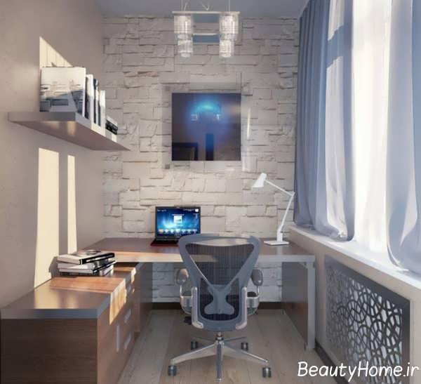 20 Inspiring Home Office Design Ideas For Small Spaces: دکوراسیون اداری کوچک برای دفاتر با محیط کوچک