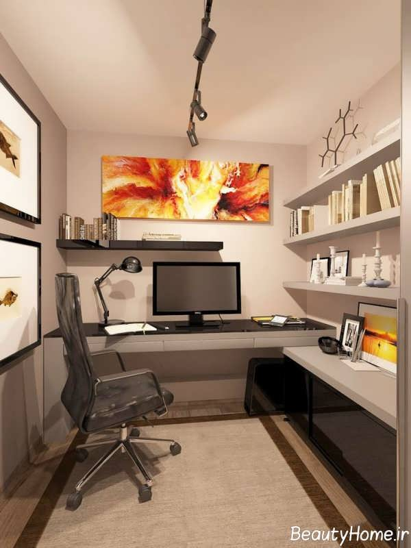 طراحی شیک فضای اداری