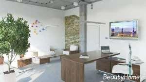 طراحی مدرن فضای داخلی اداری