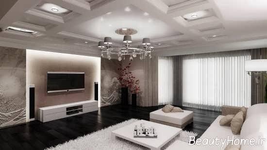 اتاق پذیرایی به سبک مدرن