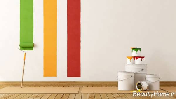رنگ مناسب برای قسمت های منزل