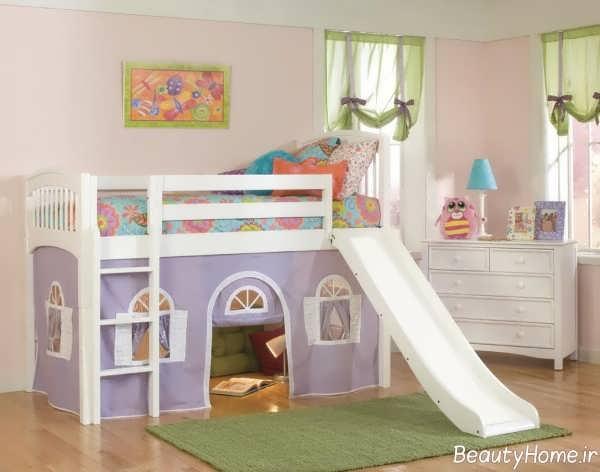 مدل تخت خواب فانتزی و زیبا برای کودک