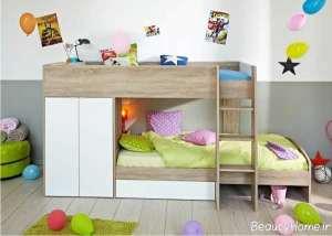 مدل تخت خواب زیبا و جذاب برای کودک