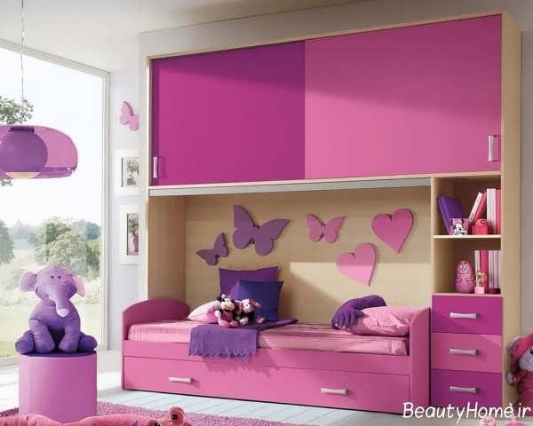 مدل های تخت خواب کودک شیک و فانتزی یک طبقه و دو طبقه