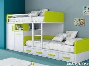 مدل تخت دو طبقه