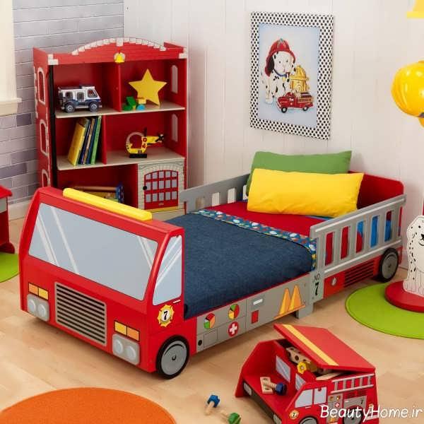 مدل تخت خواب کودک با طرح فانتزی