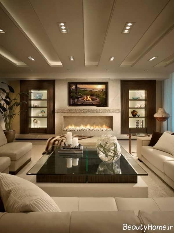 طراحی جدید پذیرایی برای خانه های امروزی