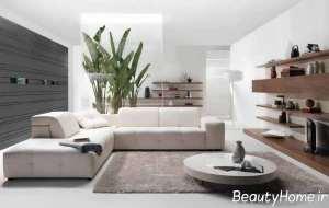طراحی شیک اتاق نشیمن خانه های امروزی