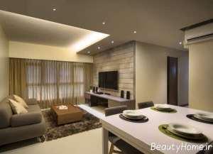طراحی متفاوت اتاق پذیرایی خانه های امروزی