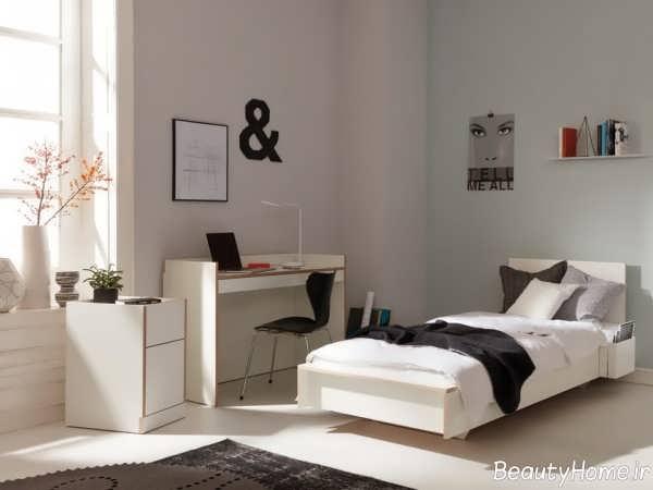 طراحی دکوراسیون اتاق خواب یک نفره