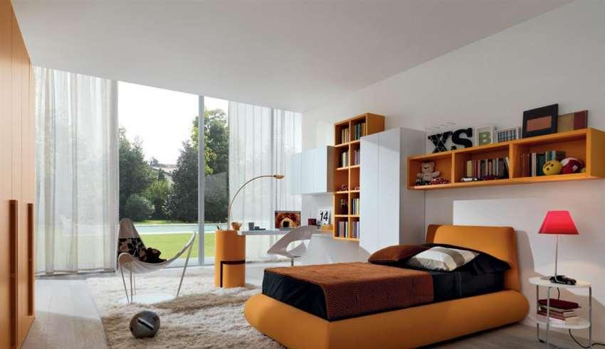 طراحی دکوراسیون اتاق خواب تک نفره