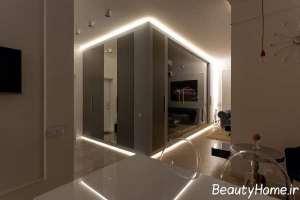 طراحی فضای داخلی آپارتمان با فضای محدود