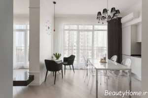 طراحی عالی فضای محدود آپارتمان