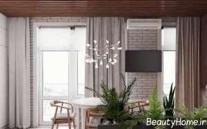 طراحی شیک فضای محدود آپارتمان