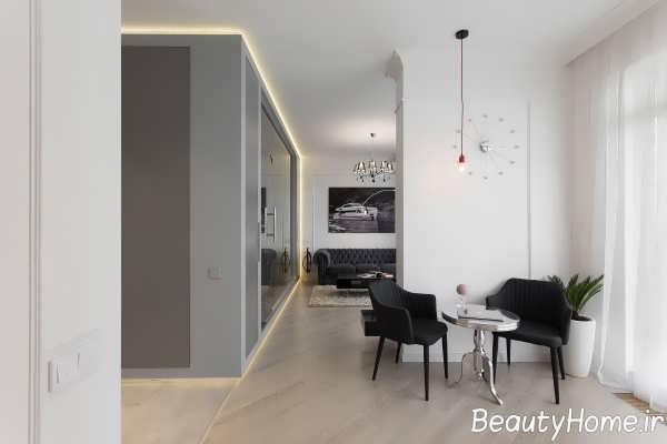 طراحی داخلی فضای آپارتمان کوچک
