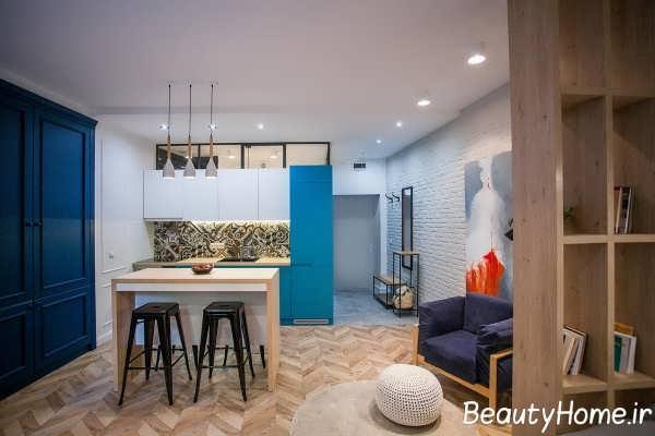 طراحی فضای داخلی آپارتمان کوچک