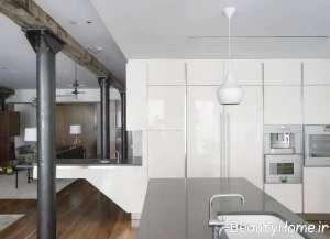 طراحی زیبا و شیک خانه ای در نیویورک