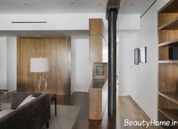 طراحی شیک و جذاب خانه ای در نیویورک