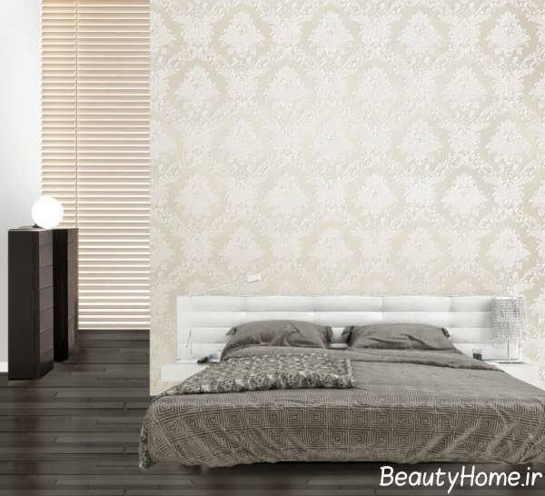 کاغذ دیواری برجسته برای اتاق خواب