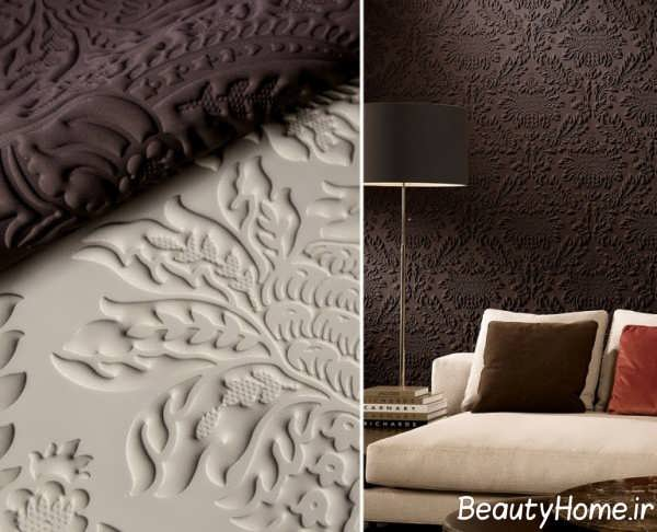کاغذ دیواری زیبا و برجسته