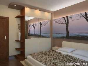 دکوراسیون شیک و مدرن اتاق خواب