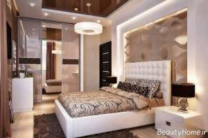 طراحی داخلی اتاق خواب مدرن و زیبا