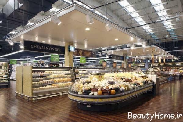 طراحی داخلی هایپر مارکت