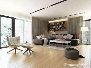 طراحی مدرن اتاق نشیمن