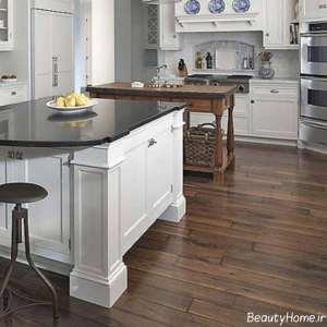 مدل کفپوش زیبا و شیک آشپزخانه