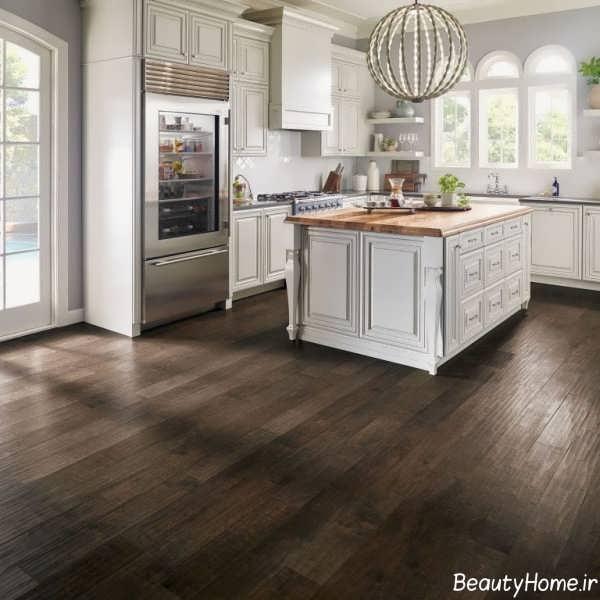 Kitchen Tiles Trends 2015: انواع مدل های کفپوش آشپزخانه شیک و جدید
