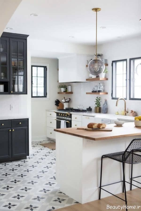 مدل کاشی برای کف آشپزخانه