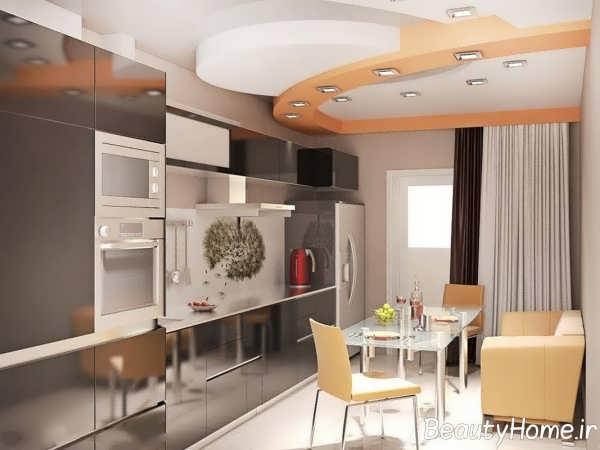 طراحی جدید آشپزخانه