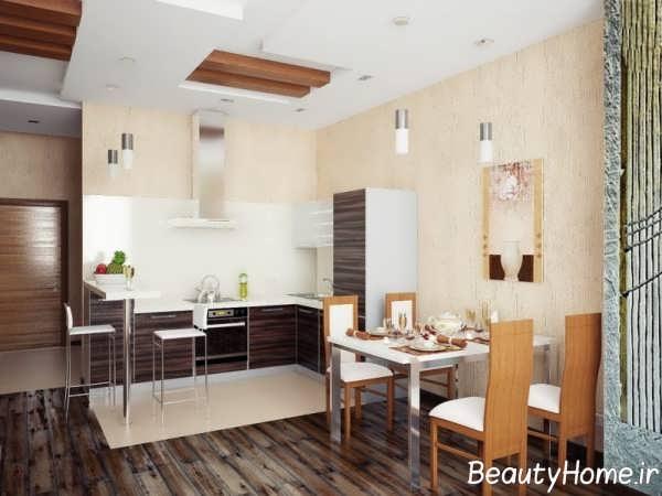 طراحی ایده آل فضای داخلی آشپزخانه