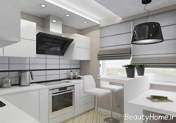طراحی مدرن آشپزخانه 2018