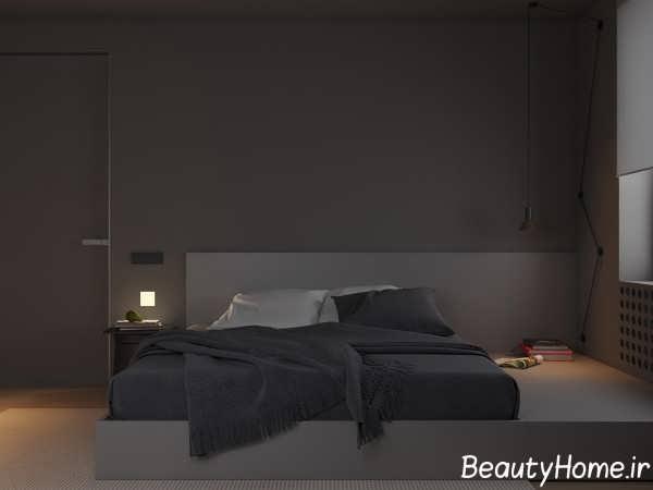 نورپردازی اتاق خواب با لامپ ال ای دی
