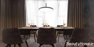 نورپردازی میز ناهار خوری