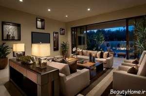 ایده هایی برای طراحی نورپردازی در سالن پذیرایی