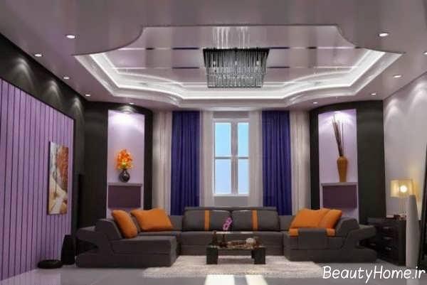 طراحی نورپردازی در سالن پذیرایی