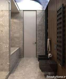 دکوراسیون لاکچری توالت