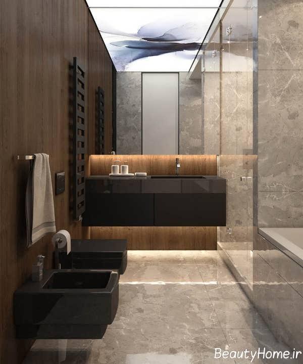طراحی شیک توالت