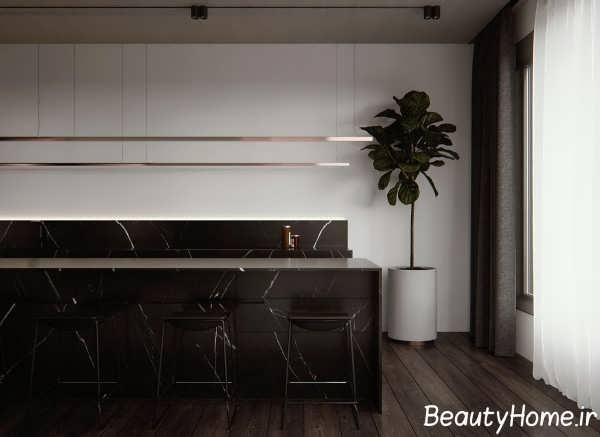 طراحی آشپزخانه به سبک مینیمالیستی