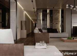 دکوراسیون عالی منزل با سنگ های خرد شده