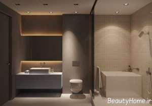 نورپردازی ال ای دی حمام