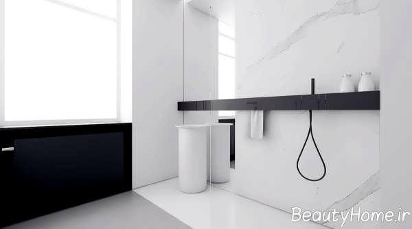 طراحی حمام لاکچری و شیک