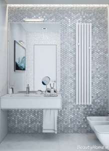 طراحی متفاوت و شیک حمام و دستشویی
