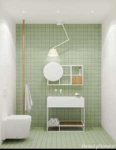 حمام و دستشویی سبک مینیمالیستی
